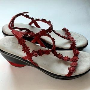 Jambu Cybill Suede sandals sz 9